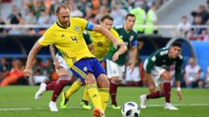 Andreas Granqvist Sweden Mexico World Cup 2018