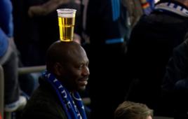 Schalke fan beer