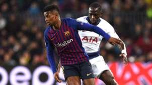 Nelson Semedo Moussa Sissoko Barcelona Tottenham UCL 11122018