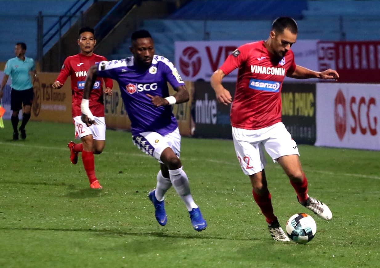 Hoang Vu Samson Ha Noi vs Than Quang Ninh V.League 2019