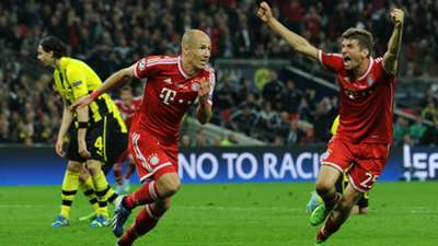 Arjen Robben Bayern Munchen Borussia Dortmund Champions League 2013