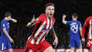 Saul Niguez, Chelsea vs Atletico Madrid