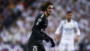 Adrien Rabiot Real Madrid PSG Champions League