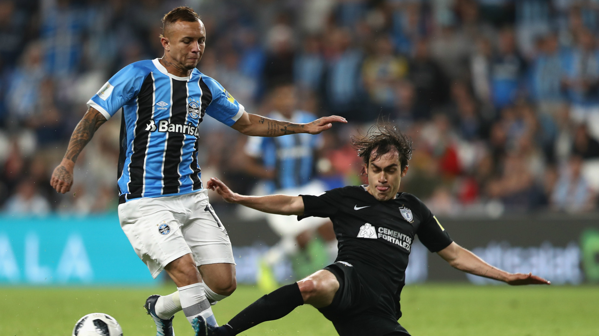 Brazilian side Gremio top Pachuca in Club World Cup semi