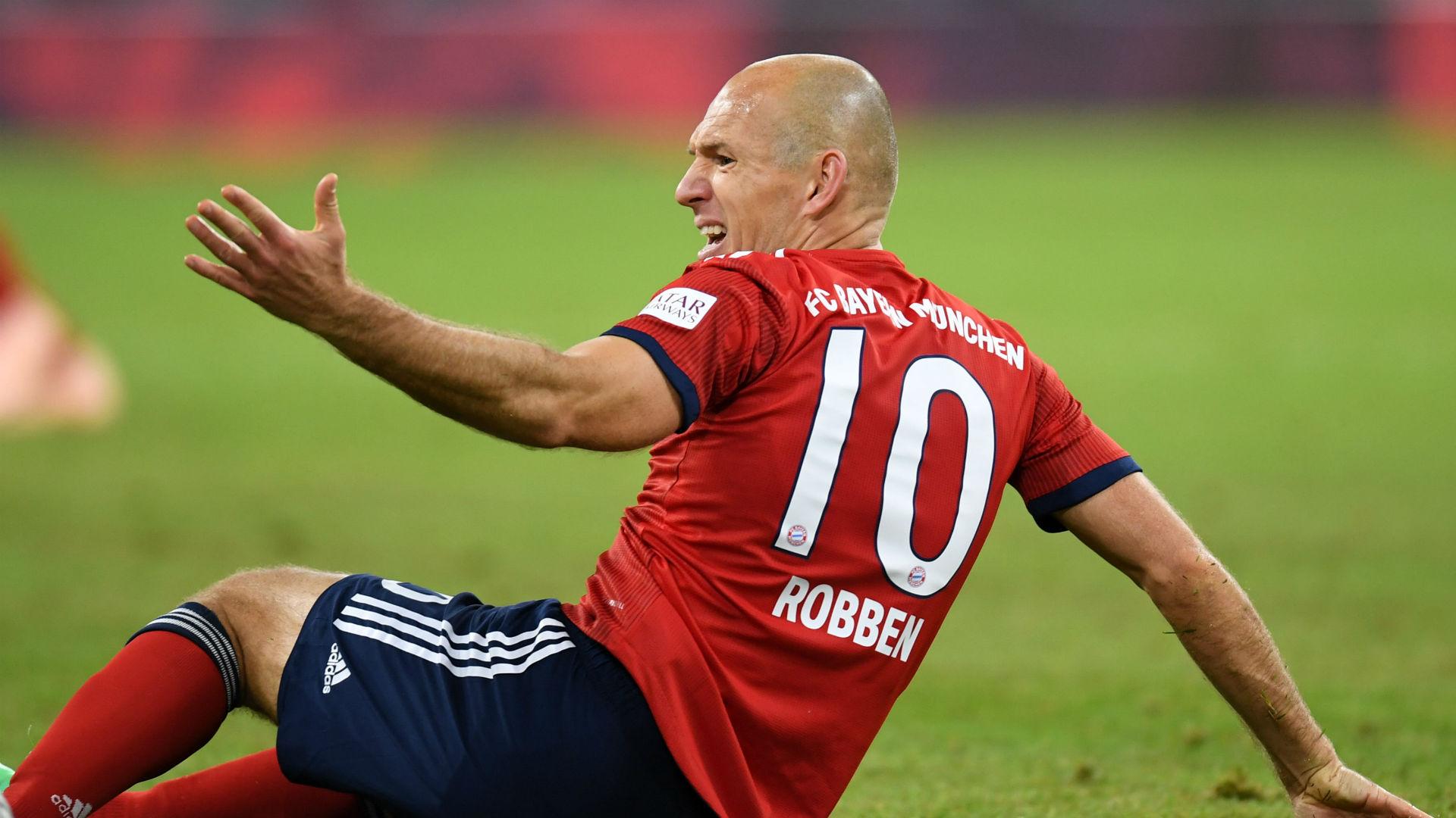 Arjen Robben Bayern Munich Augsburg Bundesliga 25092018