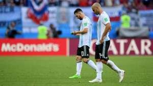 Lionel Messi Mascherano Argentina France Francia World Cup  2018 30062018