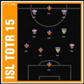 ISL 2018-19 Team of the Round 15