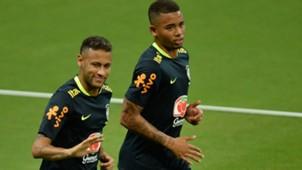 Neymar Gabriel Jesus Arena Amazonia Brasil treino 02092017