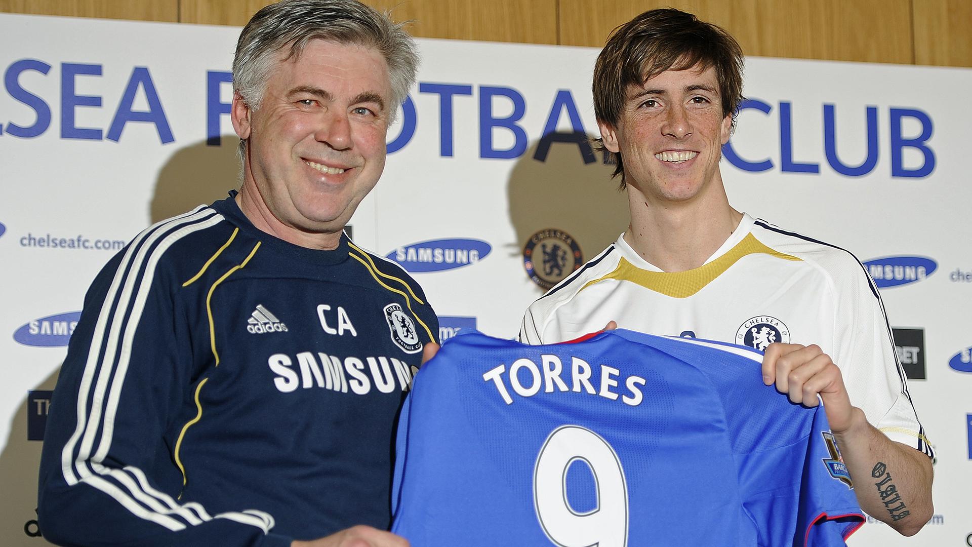 Fernando Torres presentation Chelsea