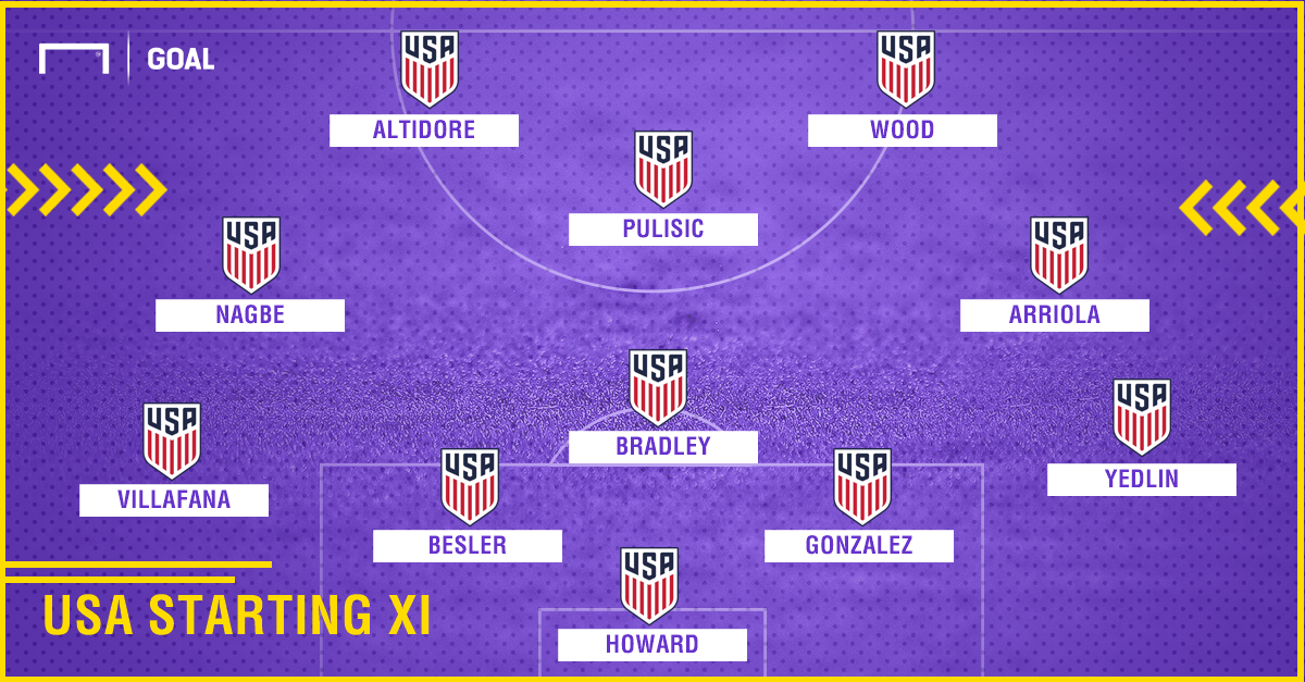 GFX USA Starting XI 10062017