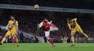 Oliver Giroud Arsenal Crystal Palace