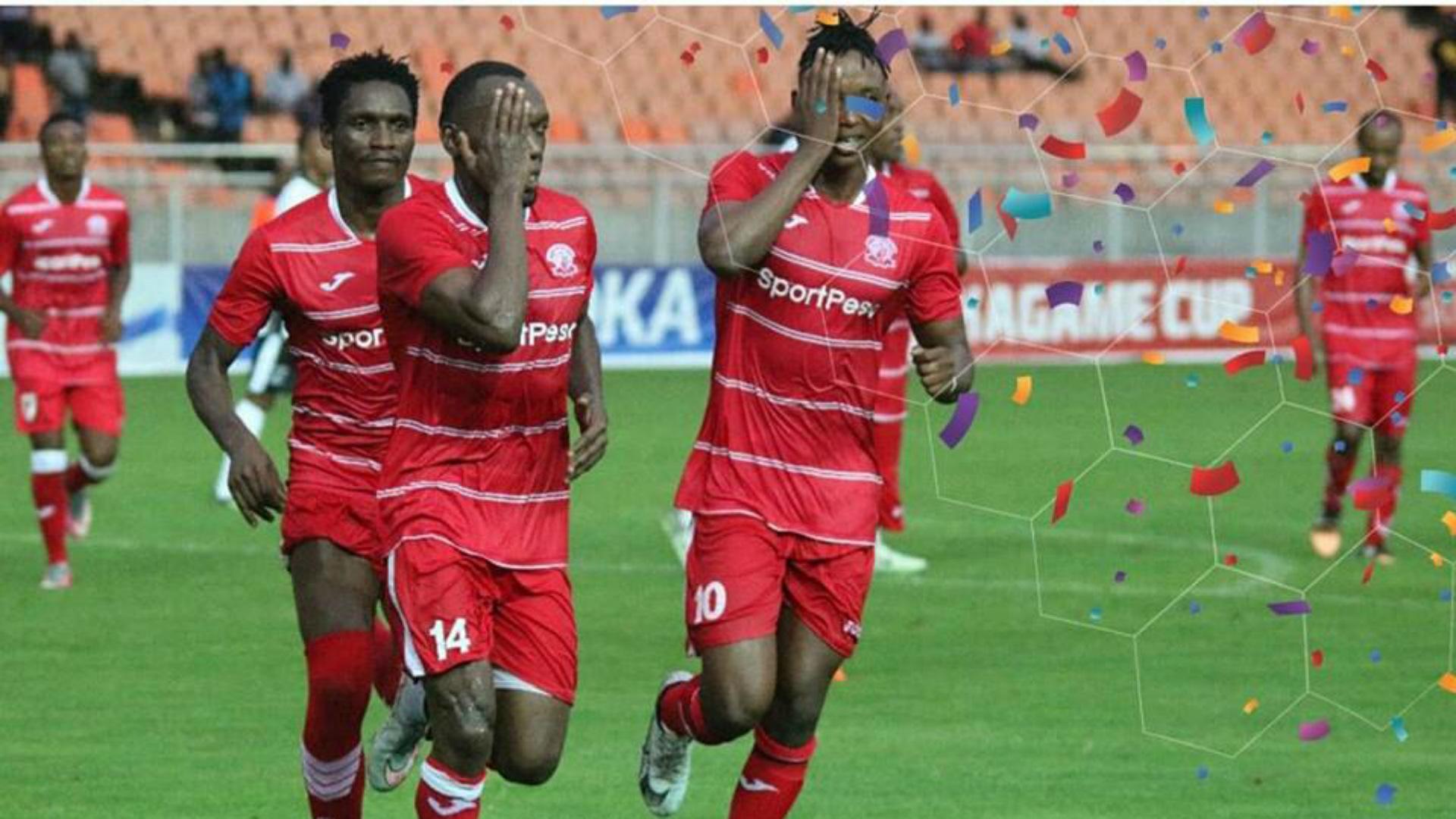 Meddie Kagere scored for Simba SC.