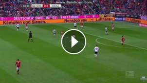 play error de Vidal ante Mainz