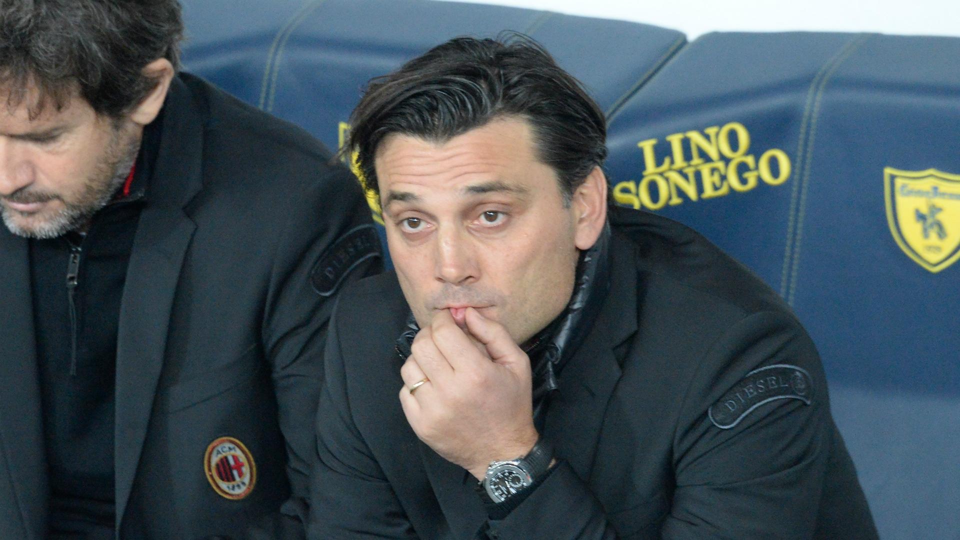 Calcio, Milan contro il Chievo: Montella contro tutti