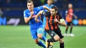 Milik Srna Shakhtar Napoli Champions League