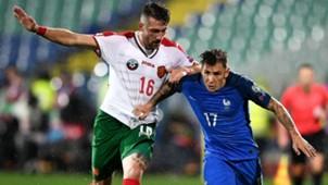 Lucas Digne Andrey Galabinov Bulgaria France Wolrd Cup 07102017