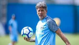 Renato Portaluppi Grêmio treino 2018