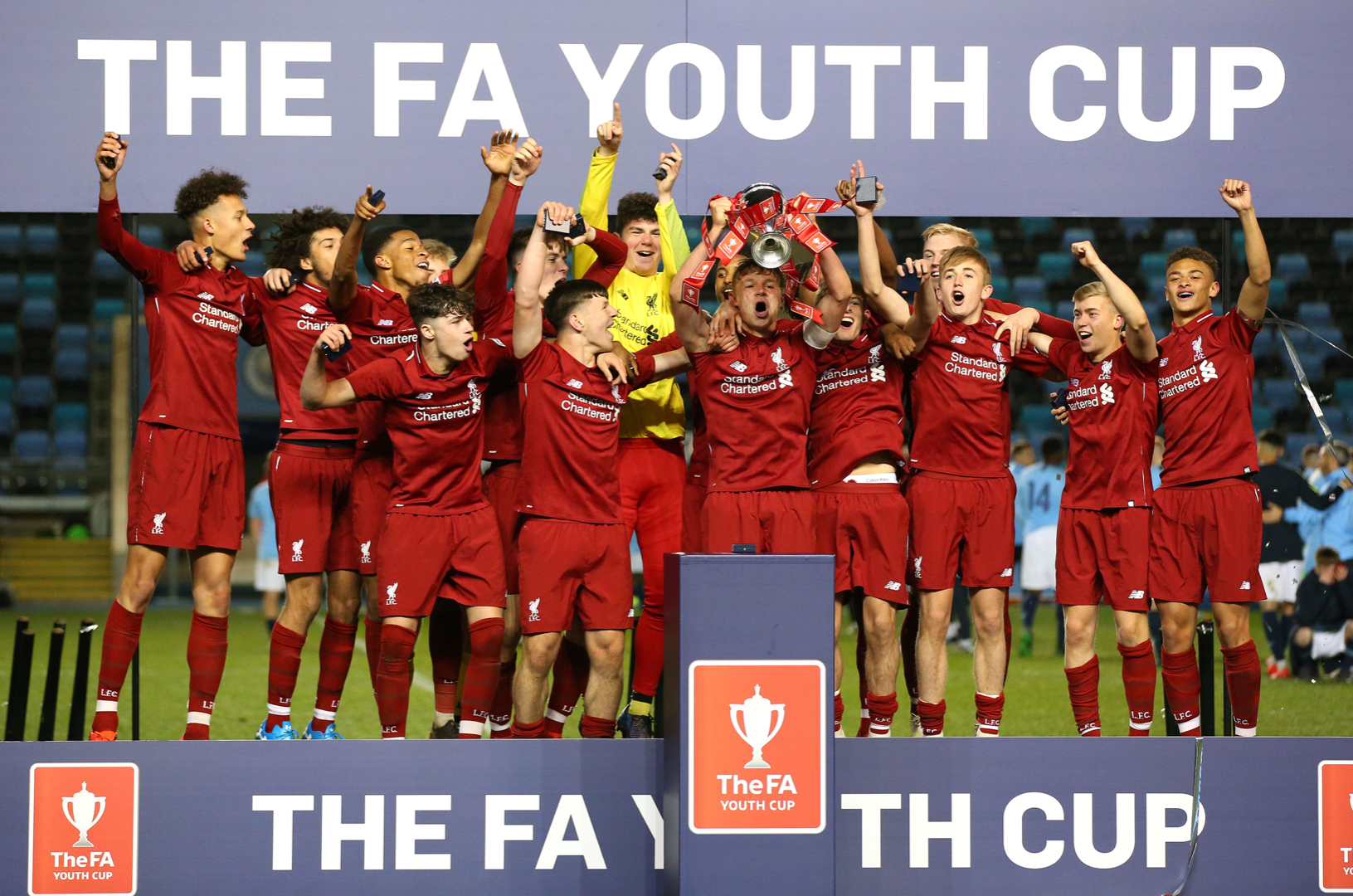 Liverpool under-18s FA Youth Cup 2019