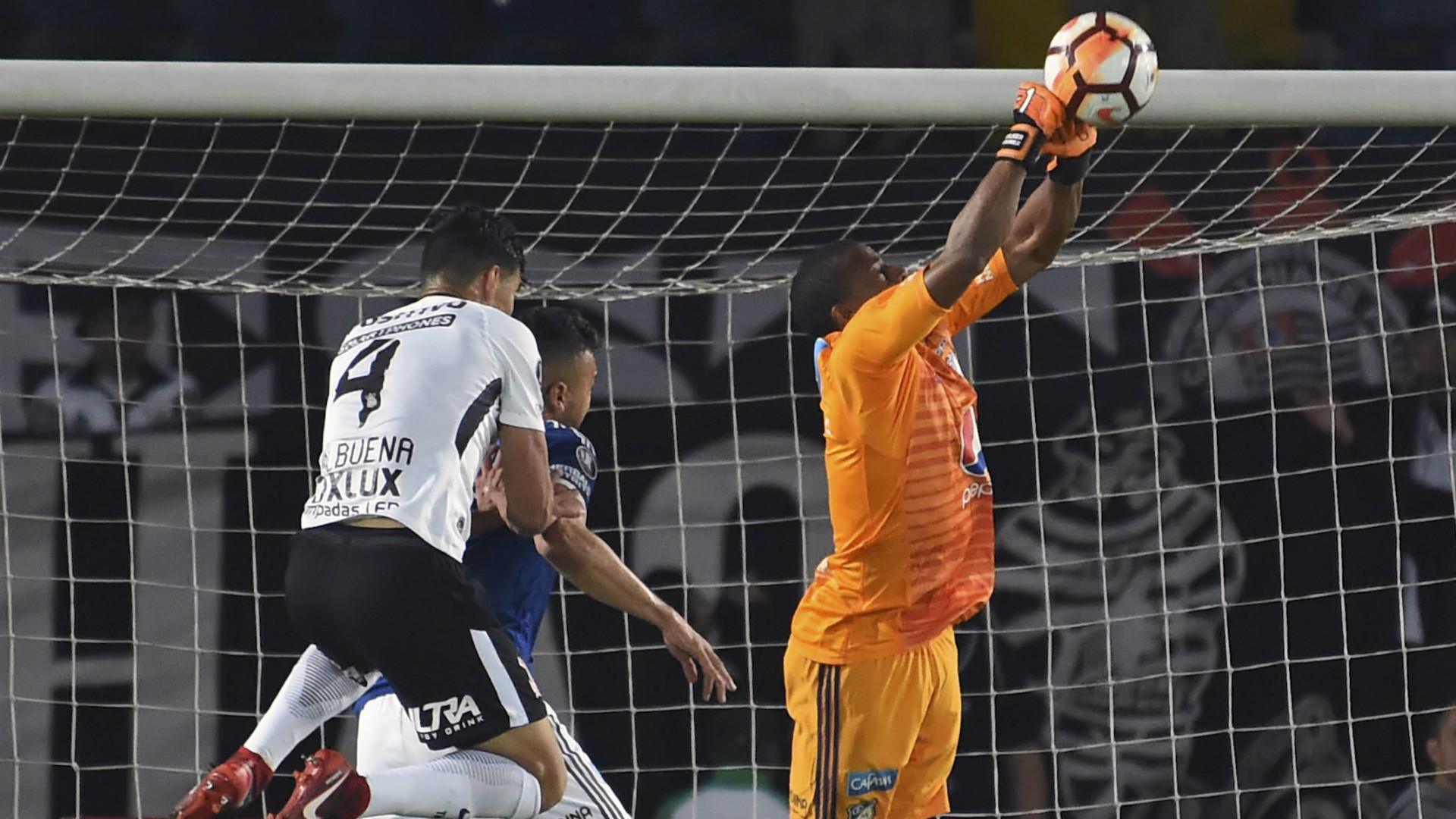 Wuilker Fariñez Millonarios Corinthians Copa Libertadores 28022018