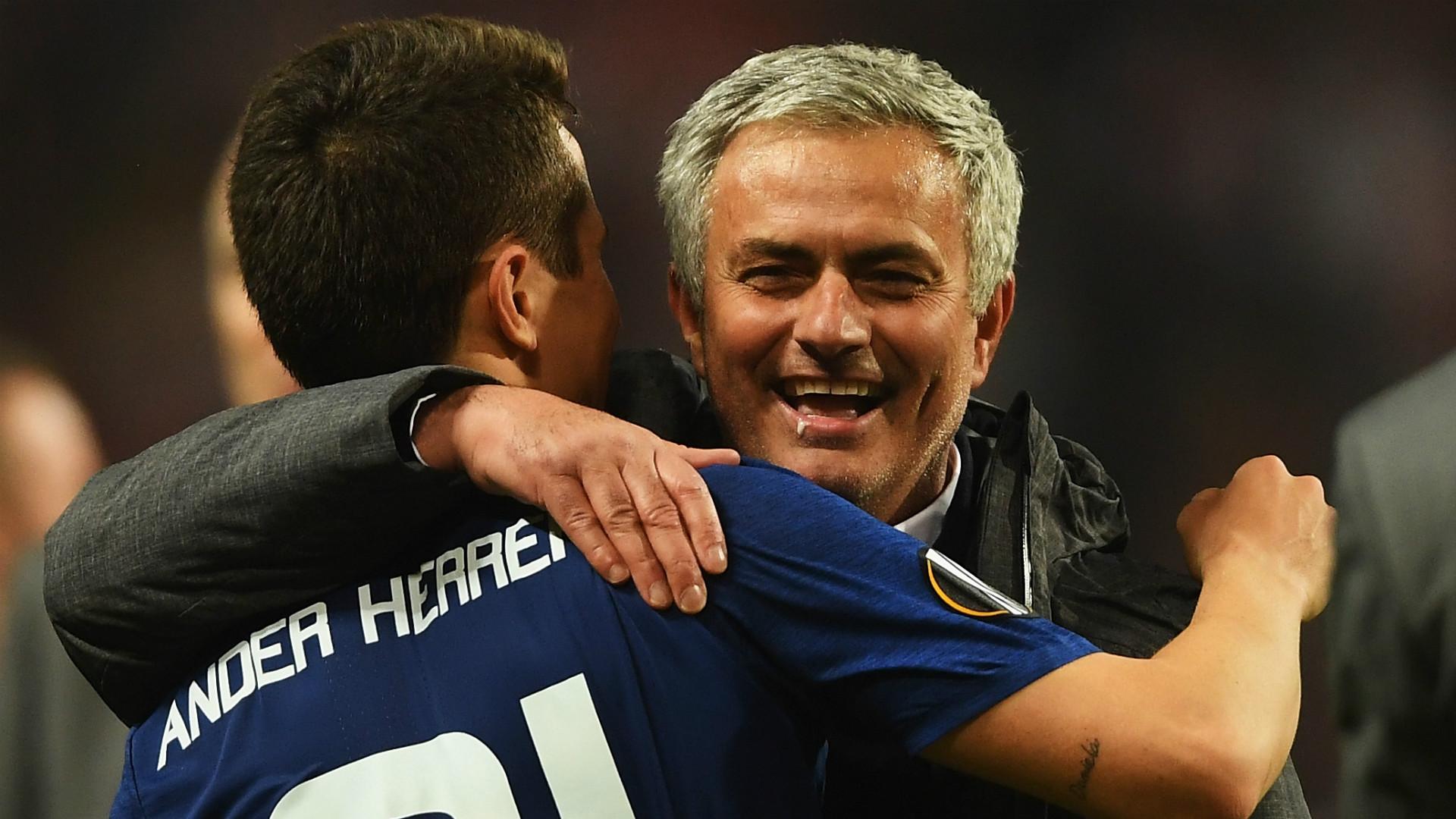 Jose Mourinho Ander Herrera Manchester United