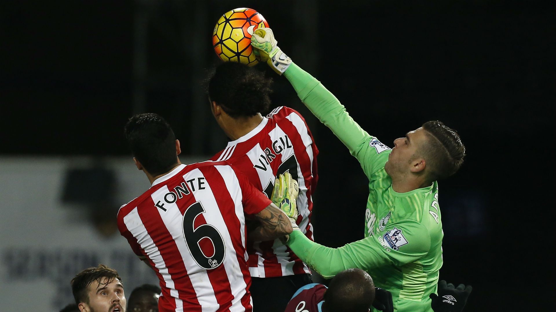 Virgil Van Dijk, Jose Fonte Southampton