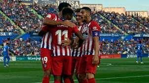 Thomas Lemar Atletico Madrid La Liga 2018