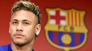 Neymar, Barcelona presser