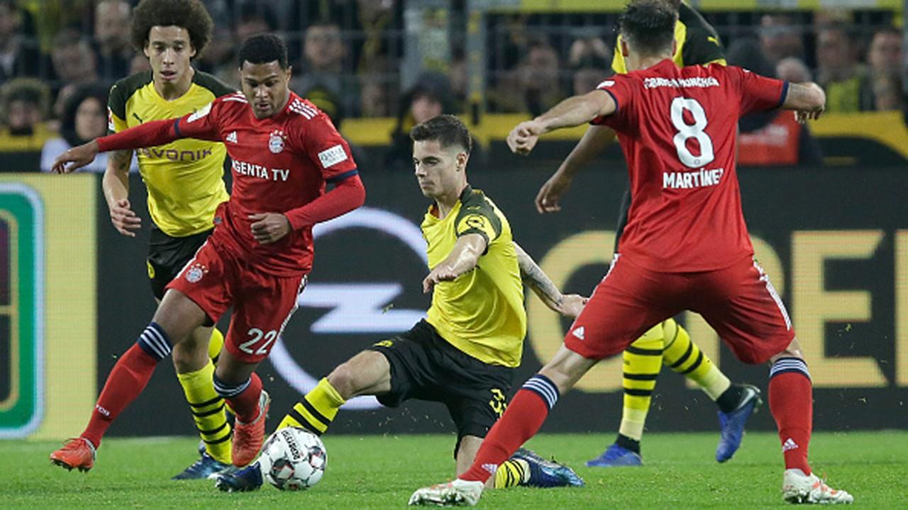 Julian Weigl Borussia Dortmund FC Bayern 10112018