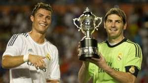 Cristiano Ronaldo Iker Casillas Real Madrid ICC 08062017