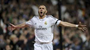 Karim Benzema Real Madrid vs Barcelona 2014