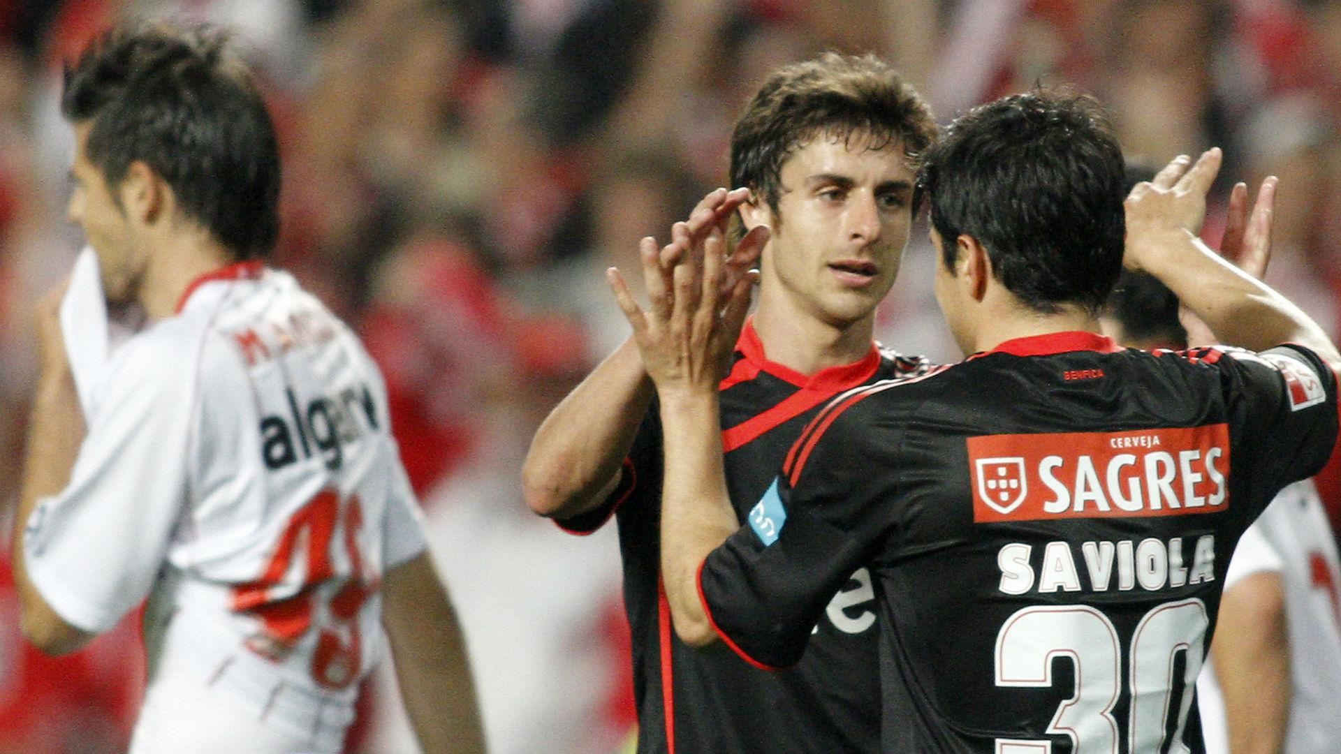 Pablo Aimar Javier Saviola Benfica