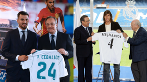 Sergio Ramos Dani Ceballos Real Madrid