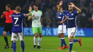 Schalke Wolfsburg Bundesliga Meyer Bentaleb 28102017