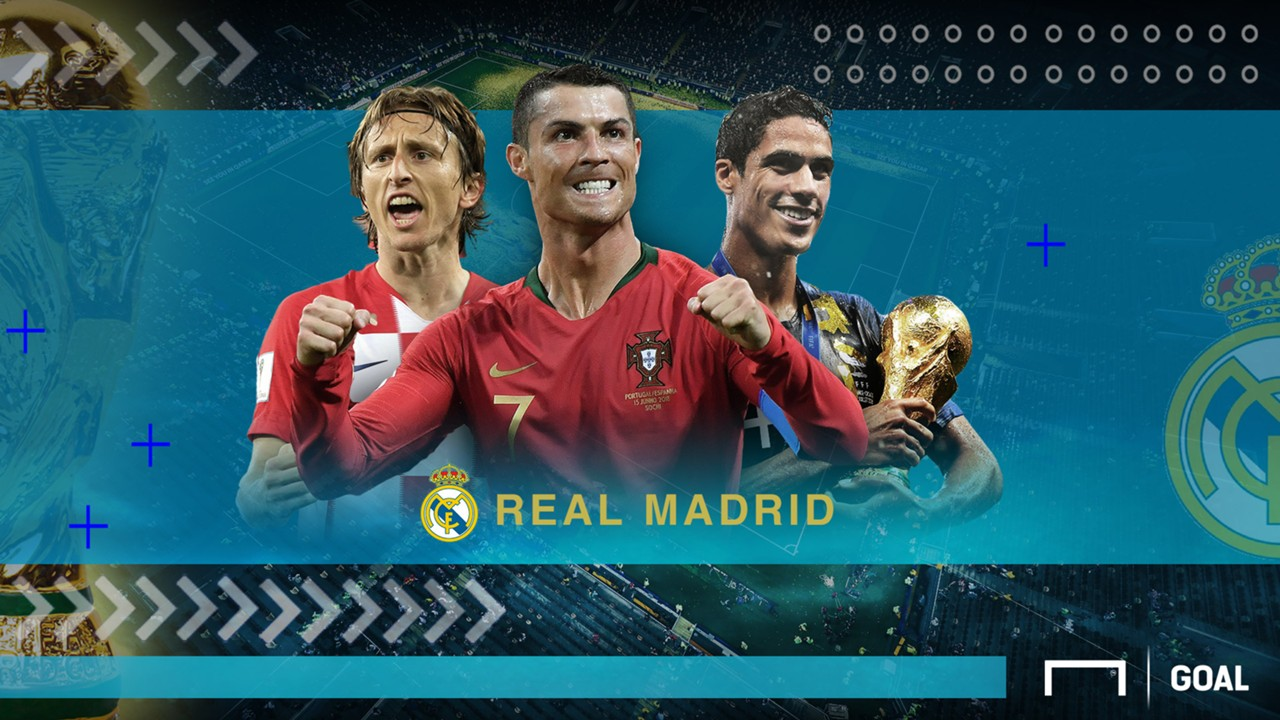 GFXID Cover Rapor Pemain Real Madrid di Piala Dunia 2018