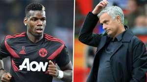 Paul Pogba, Jose Mourinho