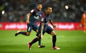 Daniel Alves - PSG-Monaco