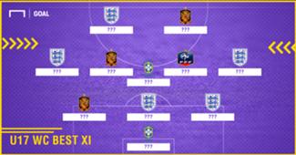 Calon Bintang Masa Depan - Inilah Skuat Terbaik Piala Dunia U-17 2017
