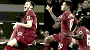 Liverpool Firmino Lallana Coutinho Mane