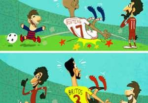Mohamed Salah semakin menunjukkan tajinya di Liga Primer Inggris. Teranyar, pemain asal Mesir itu memaksa Britos terjengkang akibat aksinya sebelum mencetak gol. Sesuatu yang sangat mirip dengan yang pernah dilakukan Lionel Messi kala mempermalukan bek...