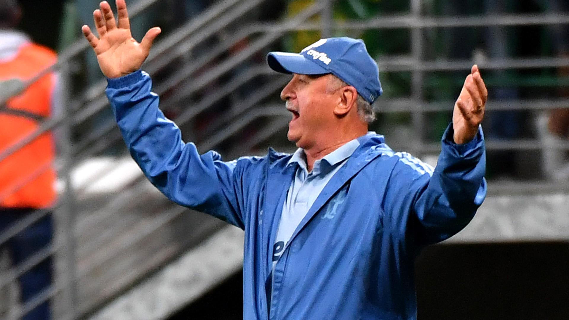 Luiz Scolari Palmeiras Colo Colo Copa Libertadores 03102018