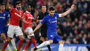 Fabregas penalty Chelsea