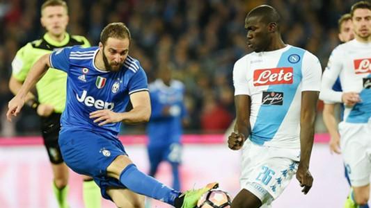 Higuain Koulibaly Napoli Juventus Serie A