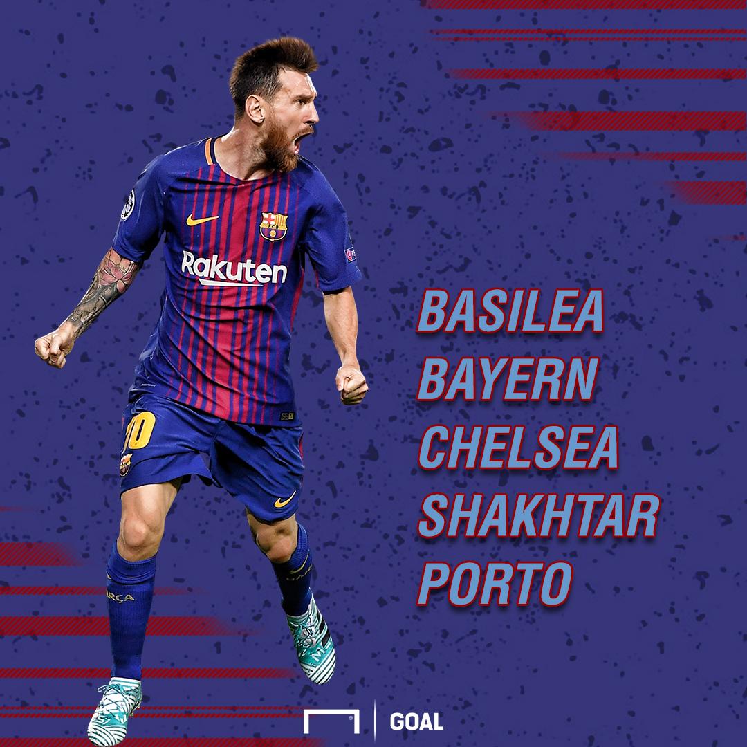 Posibles rivales Barcelona