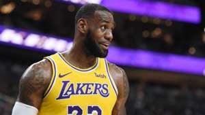 LeBron James LA Lakers 2018