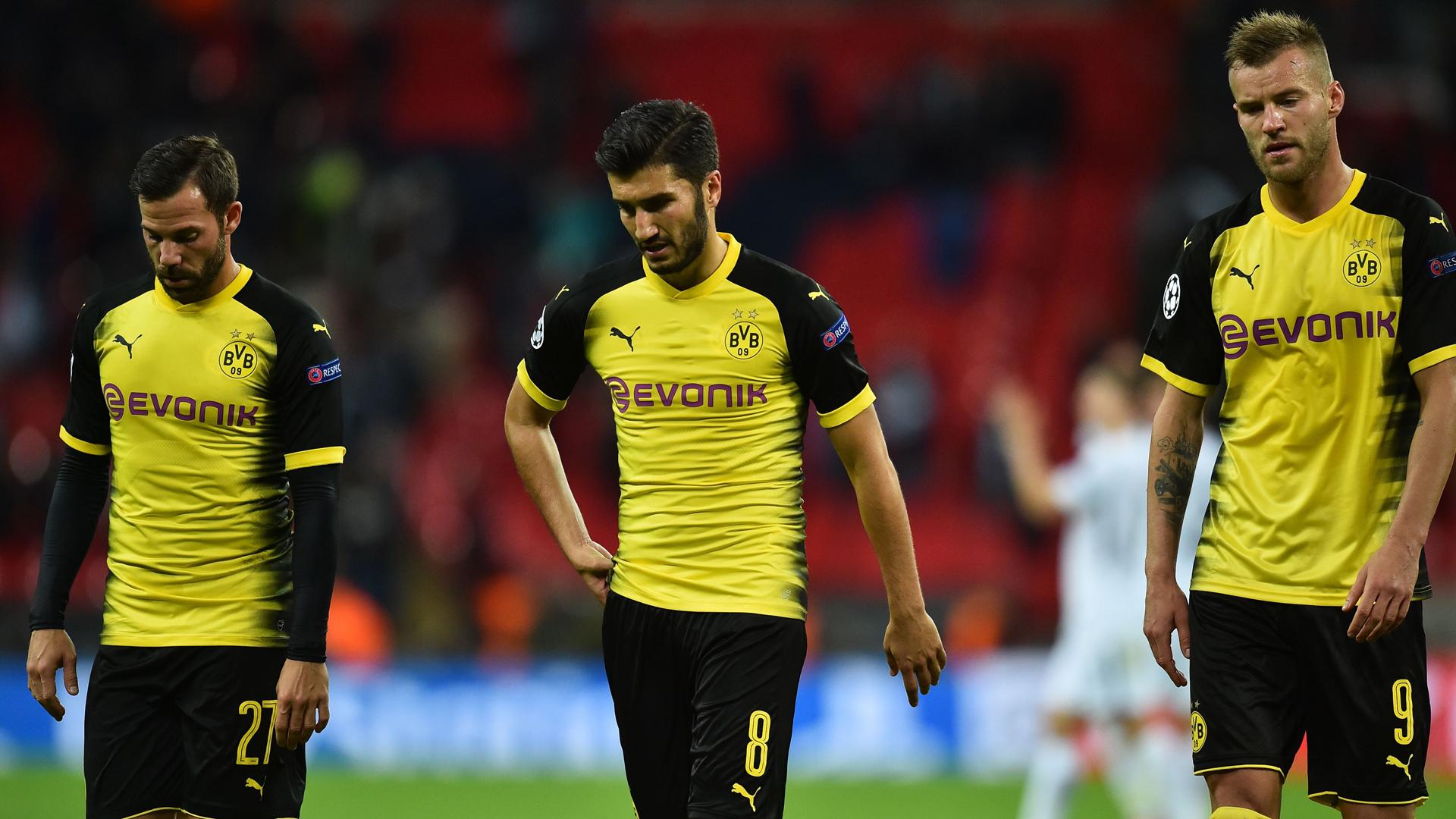 Nuri Sahin, Tottenham - Dortmund, Champions League, 09132017