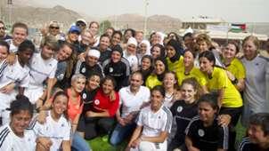 Record-breaking all-female Dead Sea match in Jordan