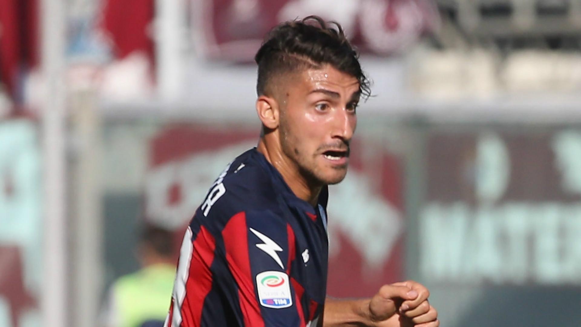 Marcello Trotta, Crotone, Serie A, 15102017