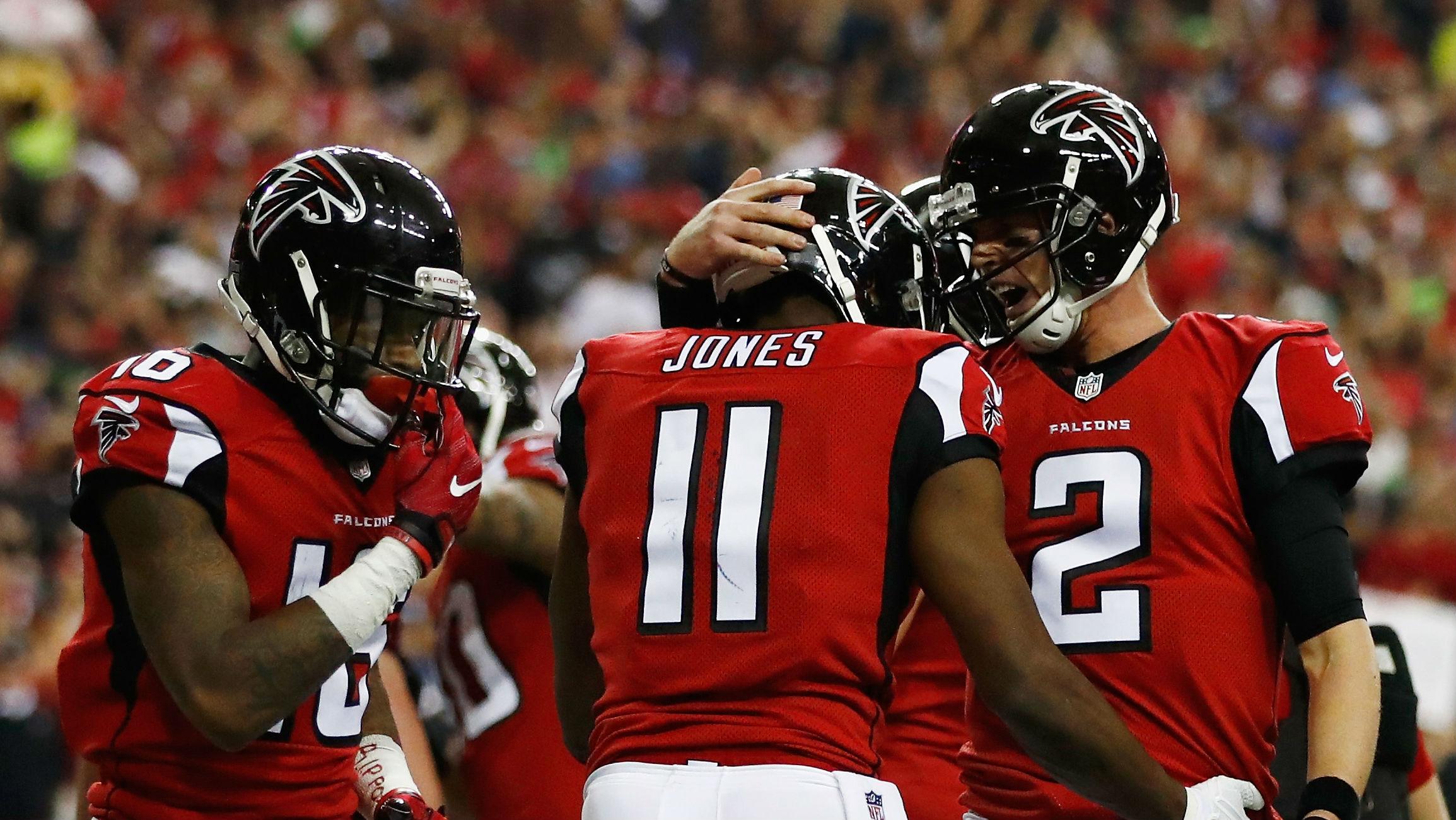 Julio Jones Matt Ryan Atlanta Falcons