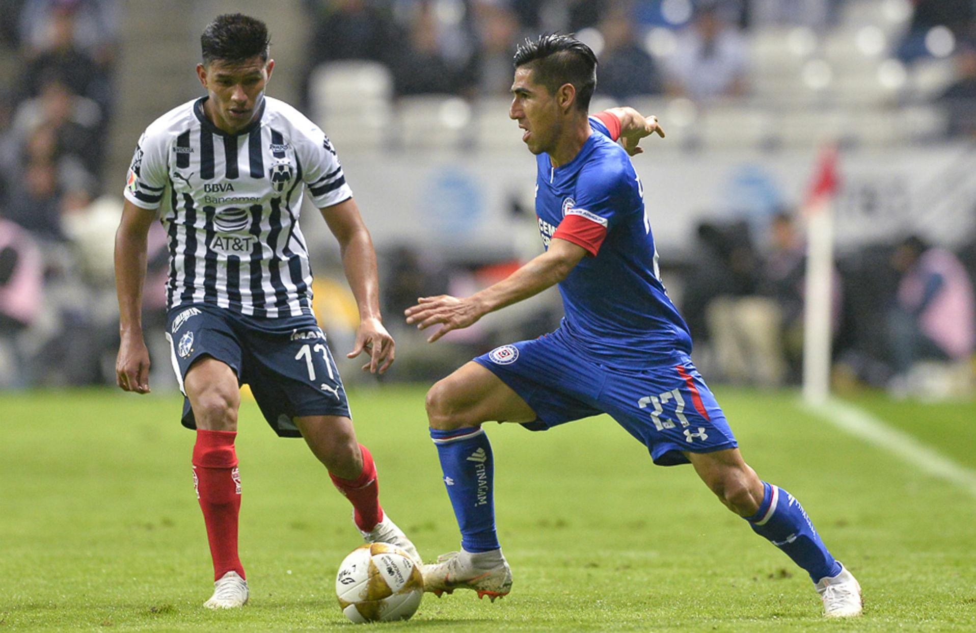 Monterrey Cruz Azul José Madueña Jesús Gallardo