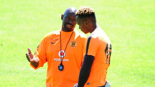 Steve Komphela and Brilliant Khuzwayo - Kaizer Chiefs